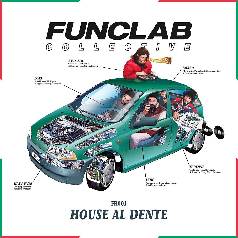 FUNCLAB FR 001 // House Al Dente